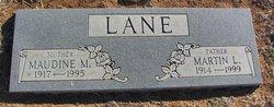 Maudine M <i>Smith</i> Lane