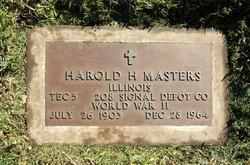 Harold Hartford Masters