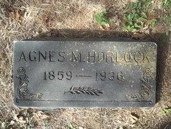 Agnes M <i>White</i> Horlock