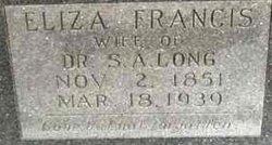 Elizabeth Francis Eliza <i>Sparrow</i> Long