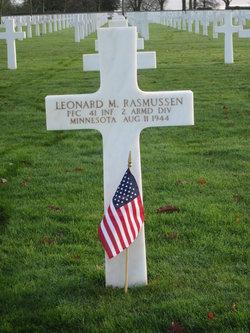 PFC Leonard M Rasmussen