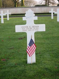 Sgt. Clyde G Beiser