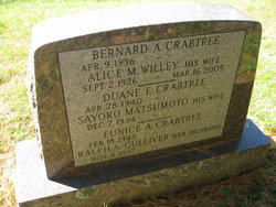 Bernard Arthur Crabtree