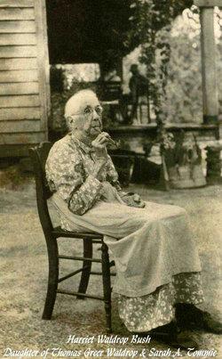 Harriet E <i>Waldrop</i> Bush