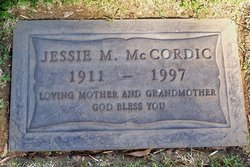 Jessie M. <i>Adair</i> McCordic