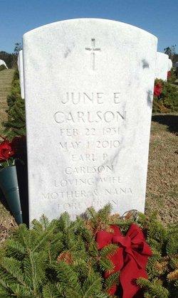 June Elizabeth <i>McBurnie</i> Carlson