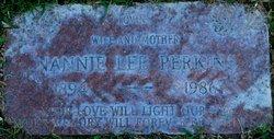 Nannie Lee <i>Shields</i> Perkins