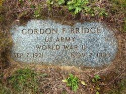 Gordon Francis Butch Bridge