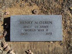 Henry Martin Ozbun