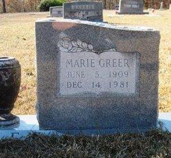 Alice Marie <i>Greer</i> Allen