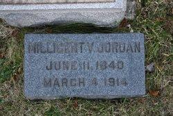 Millicent V. Jordan