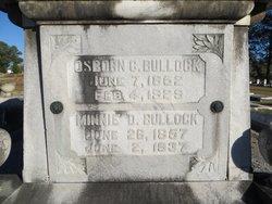 Osborn C Bullock