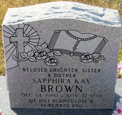 Sapphira Kay Brown