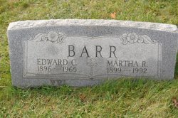 Edward C Barr