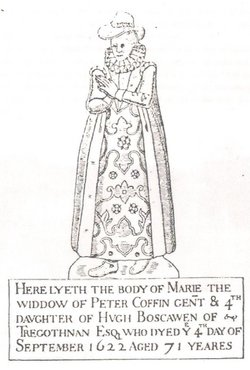 Mary <i>Boscawen</i> Coffin