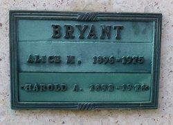 Alice M Bryant