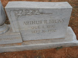 Arthur R Hicks