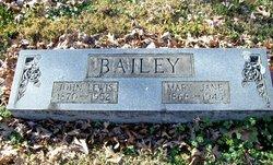 Mary Jane <i>Spencer</i> Bailey