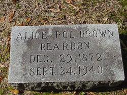 Alice Poe <i>Brown</i> Reardon