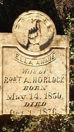 Ella Annie <i>Lyon</i> Horlock