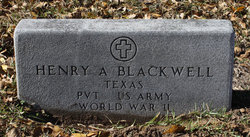 Henry Alfred Buck Blackwell