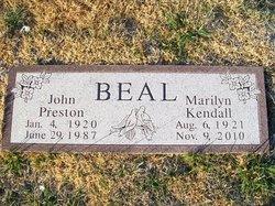 Marilyn <i>Kendall</i> Beal