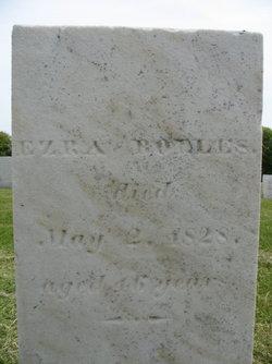 Ezra Bolles