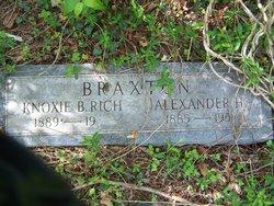 Alexander Hampton Braxton