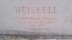 Carrick White Heiskell