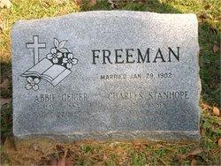 Abbie <i>Geiger</i> Freeman