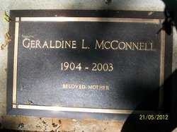 Geraldine Lucille <i>Bowers</i> McConnell