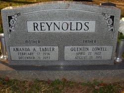 Amanda A <i>Tabler</i> Reynolds