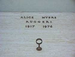 Alice Myers Ruggeri