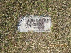 Marshall B Pierce