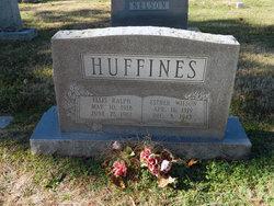 Annie <i>Wilson</i> Huffines