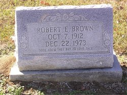 Robert Earl Bob Brown