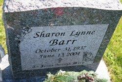 Sharon Lynne Barr