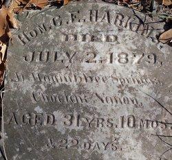 Hon. G. E. Harkins