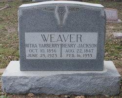 Ritha <i>Yarberry</i> Weaver