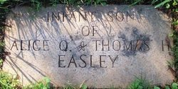 Infant Son Easley