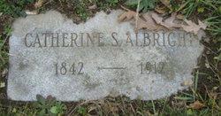 Catherine S Albright