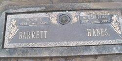 M Catherine <i>Hanes</i> Barrett