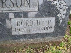 Dorothy P Anderson
