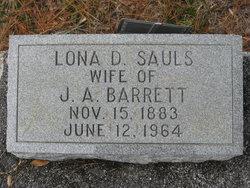Lona D. <i>Sauls</i> Barrett
