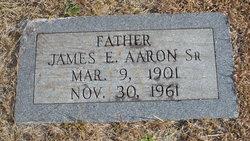 James E Aaron, Sr