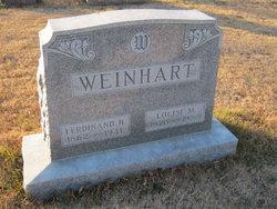 Ferdinand H Weinhart