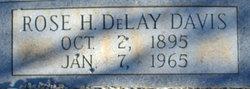 Rose H. <i>DeLay</i> Davis