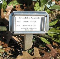 Gwendolyn A Arnold