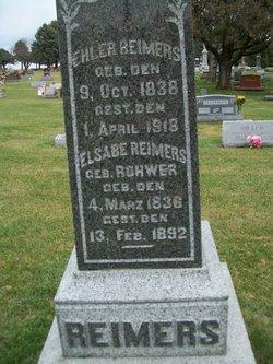 Elsabe(th) <i>Rohwer</i> Reimers