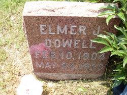 Elmer J Dowell